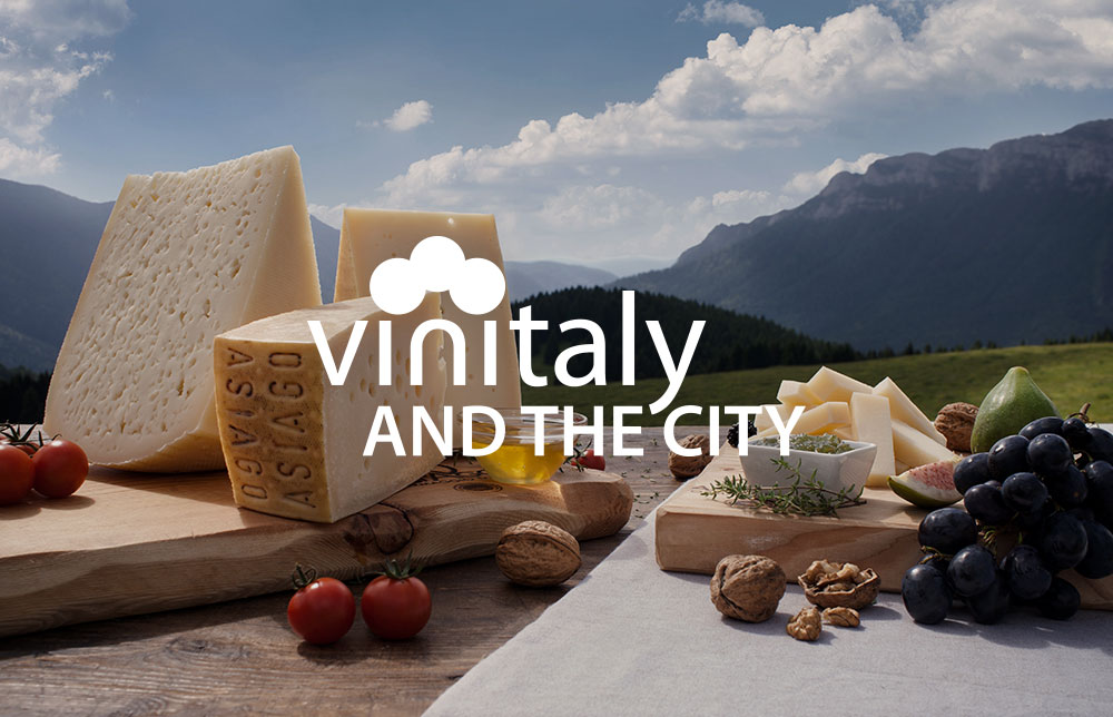 Asiago DOP sposa, dal 5 all'8 aprile, Vinitaly & The City