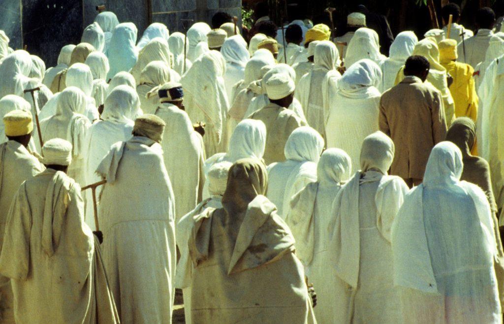 In Etiopia a gennaio per celebrare il Timkat, solenne festa religiosa