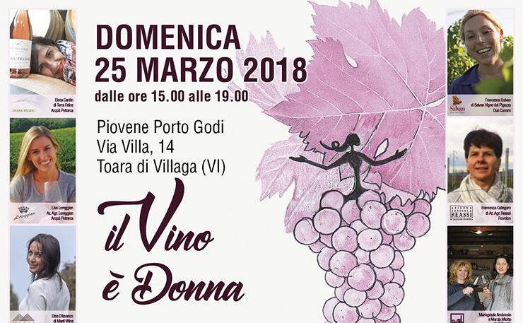 """Domenica 25 marzo: """"Il Vino è Donna"""", evento benefico"""