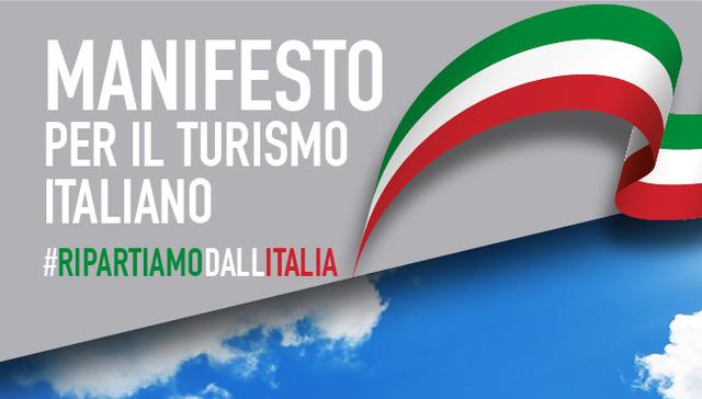 Manifesto per il turismo italiano, appello degli operatori