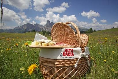 """""""Picnic in vetta"""", originale iniziativa dell'Alta Badia"""