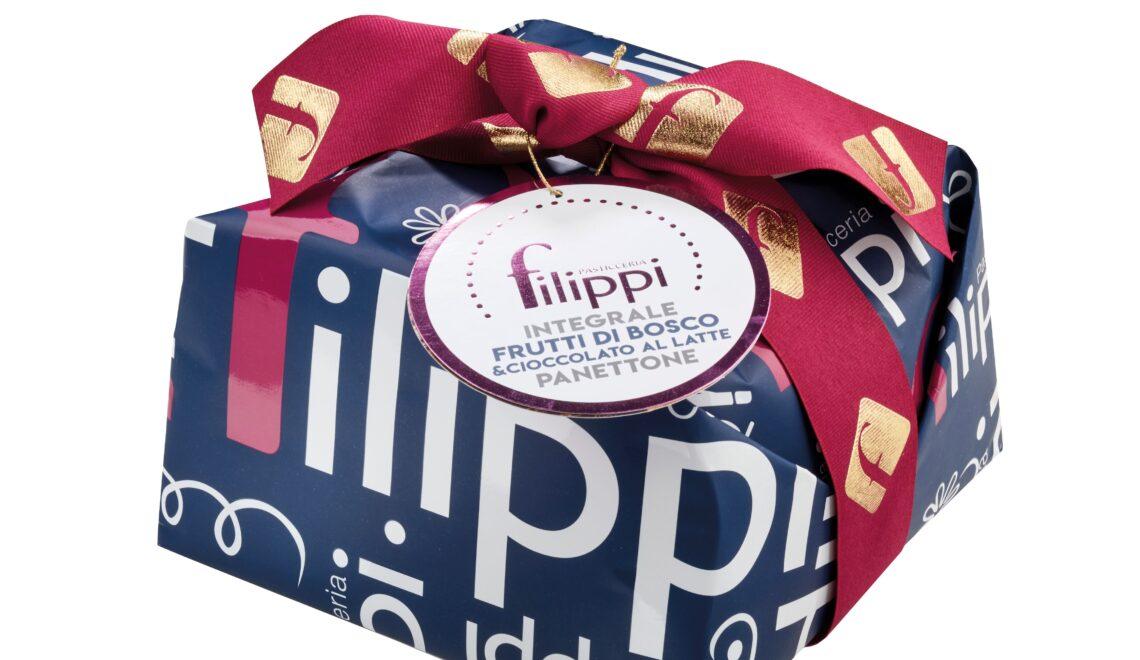 Panettone al pistacchio in purezza e integrale, novità della Pasticceria Filippi