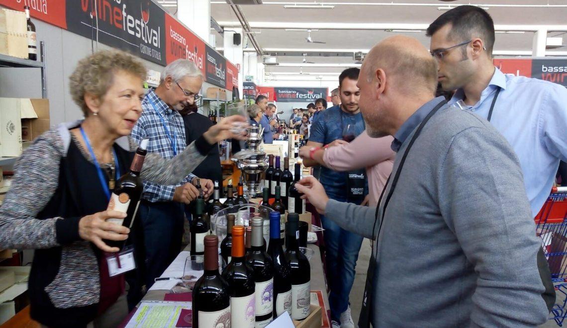 Oltre 100 etichette per il Bassano Wine Festival