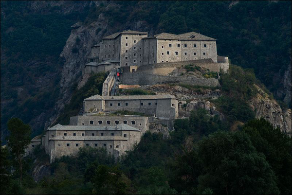 Speciale San Valentino a Forte di Bard, in Val d'Aosta
