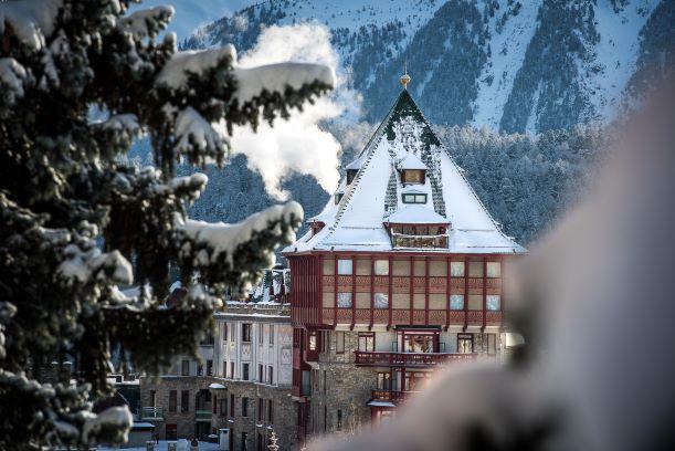 cambio look per il Badrutt's Palace di St.Moritz
