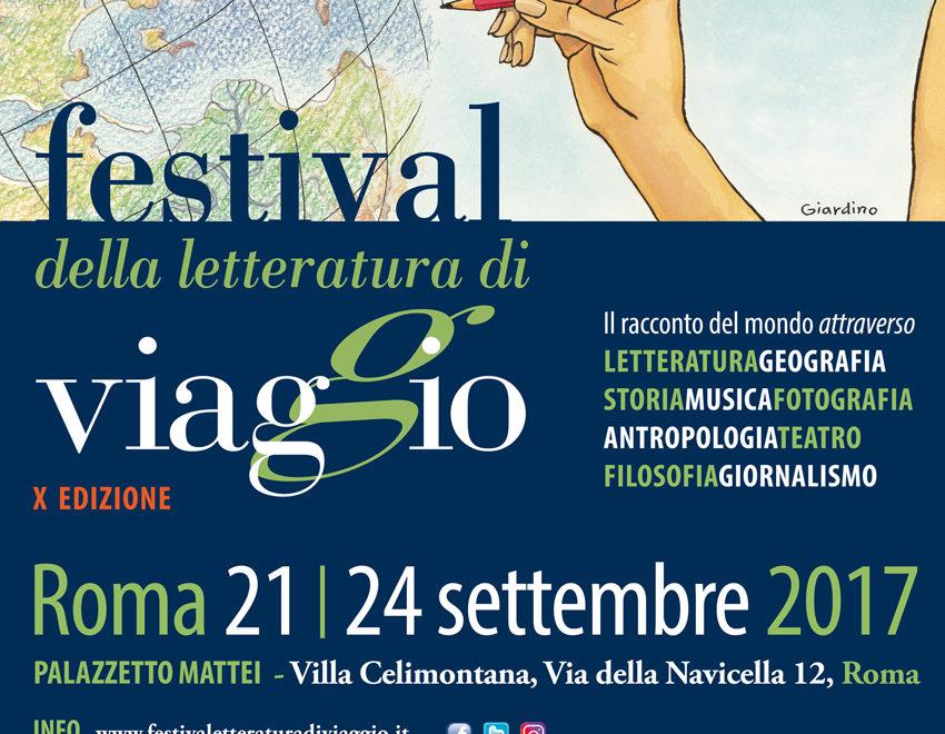 Festival della Letteratura di Viaggio, X edizione