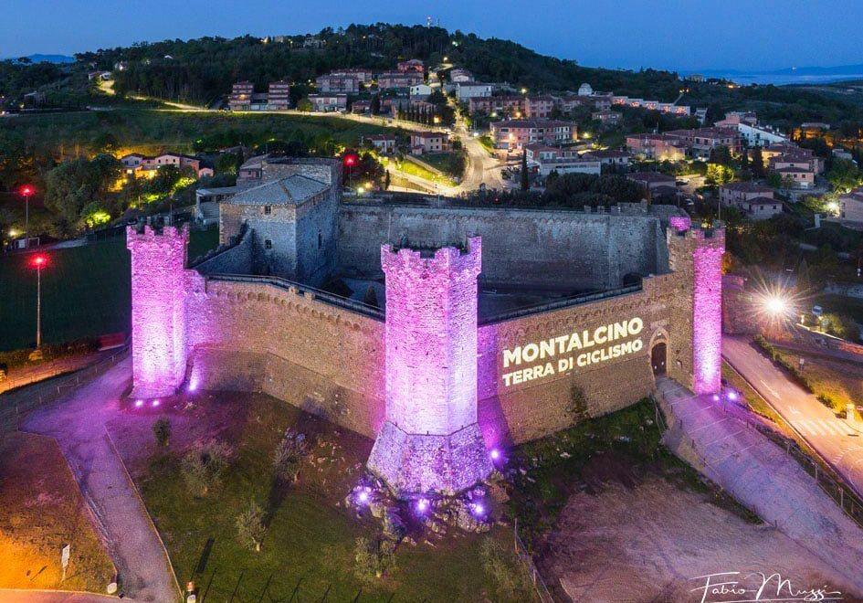 Tappa a Montalcino per la Corsa Rosa