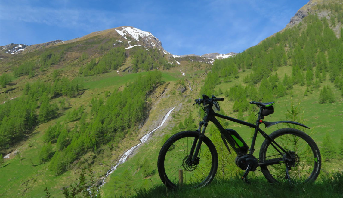 Muoversi in bici nel Parco Nazionale Gran Paradiso